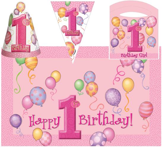 Welp Stoel versiering voor 1e verjaardag meisje – Preciousgifts PE-21