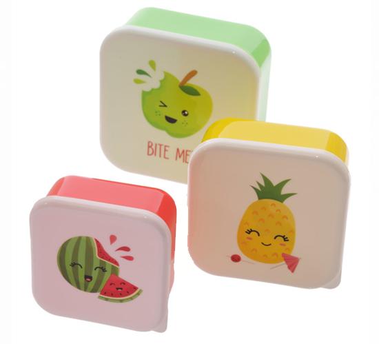Fruit Lunchboxen set