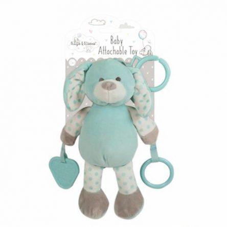 Koppelbaar Baby Knuffel Blauw